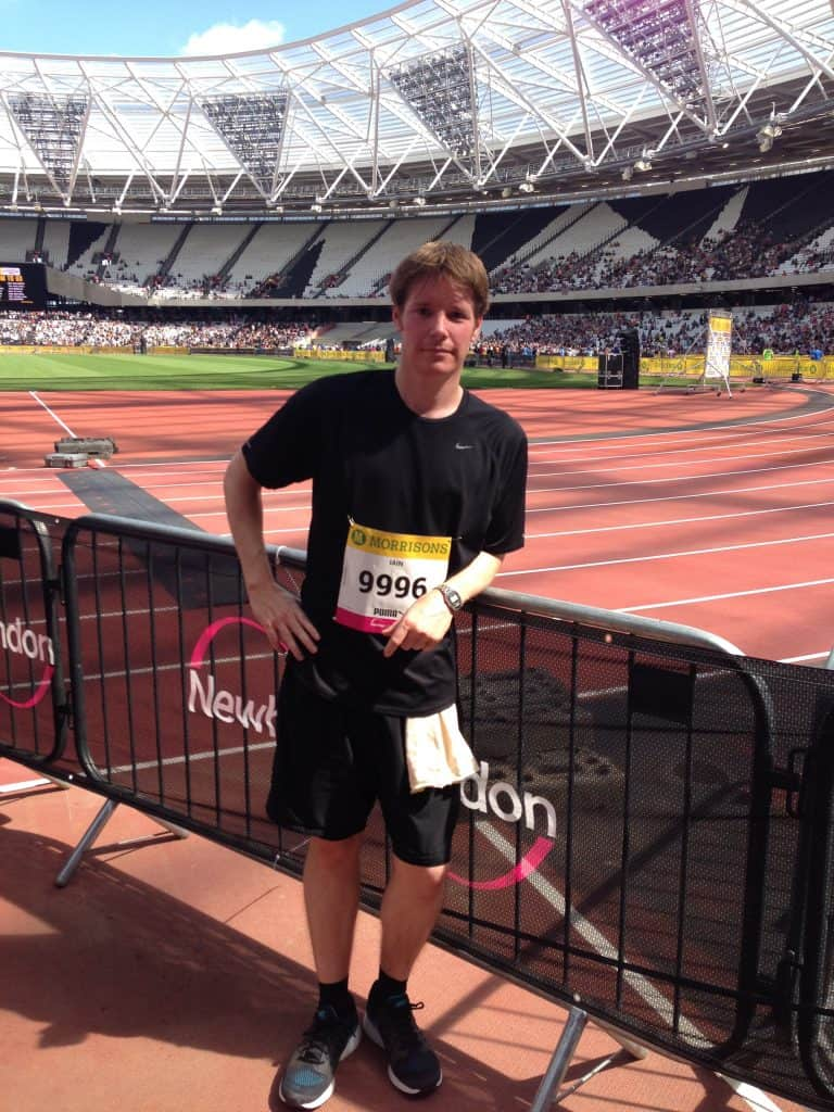After the Great Newham Run - 2015