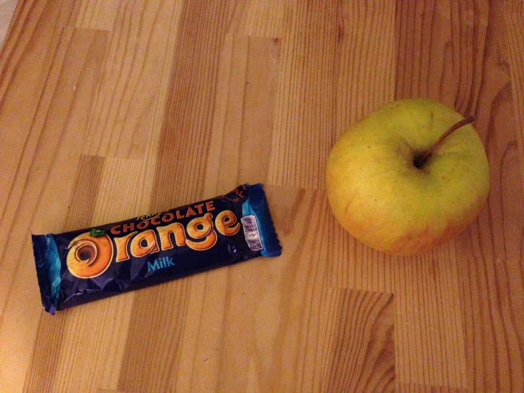 Is chocolate orange a fruit?