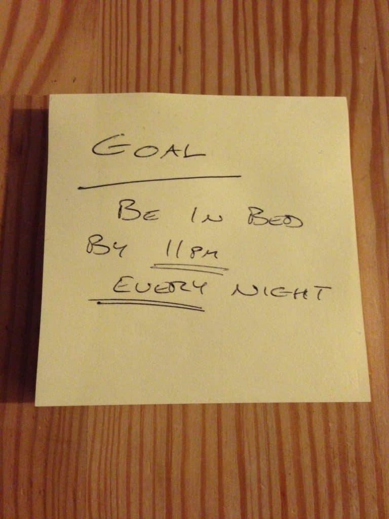 Written Goal