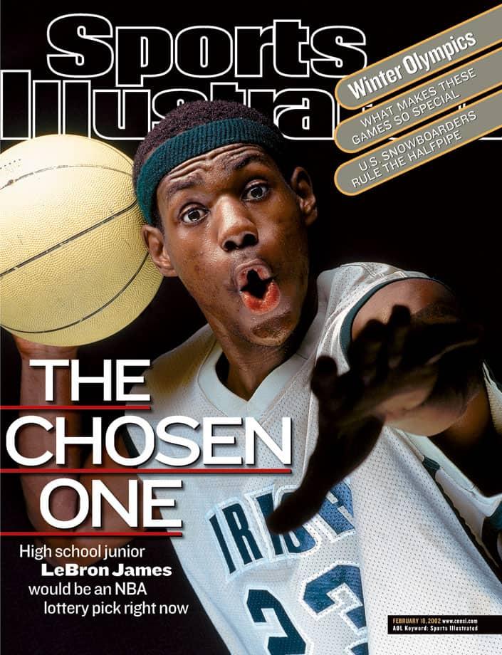 LeBron Sports Illustrated