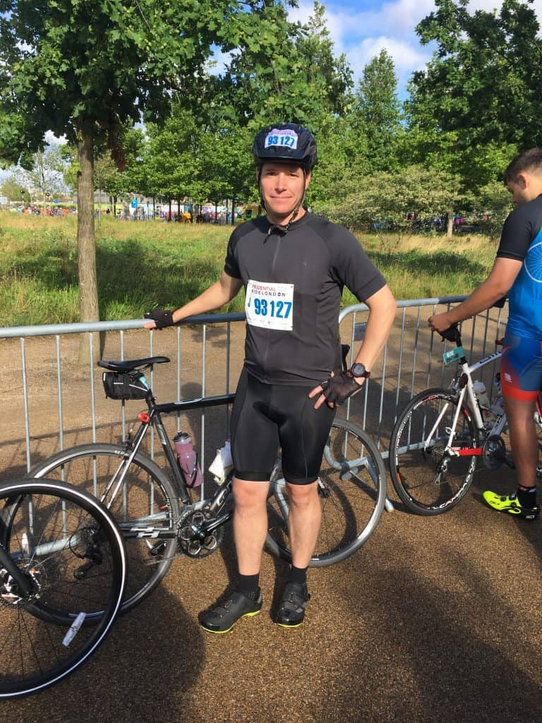 Ride London Start