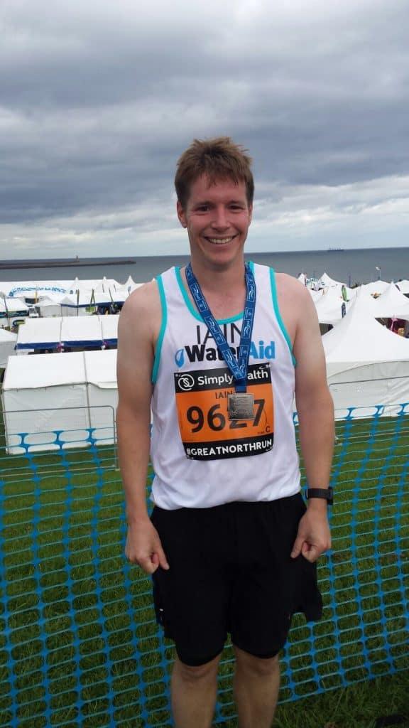 Great North Run Finish