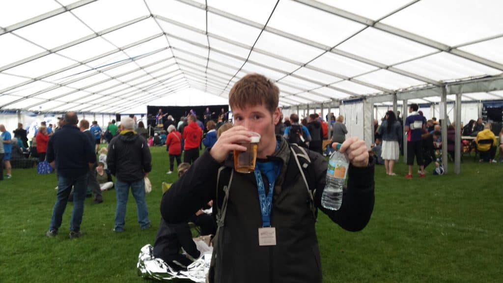 Great North Run Beer