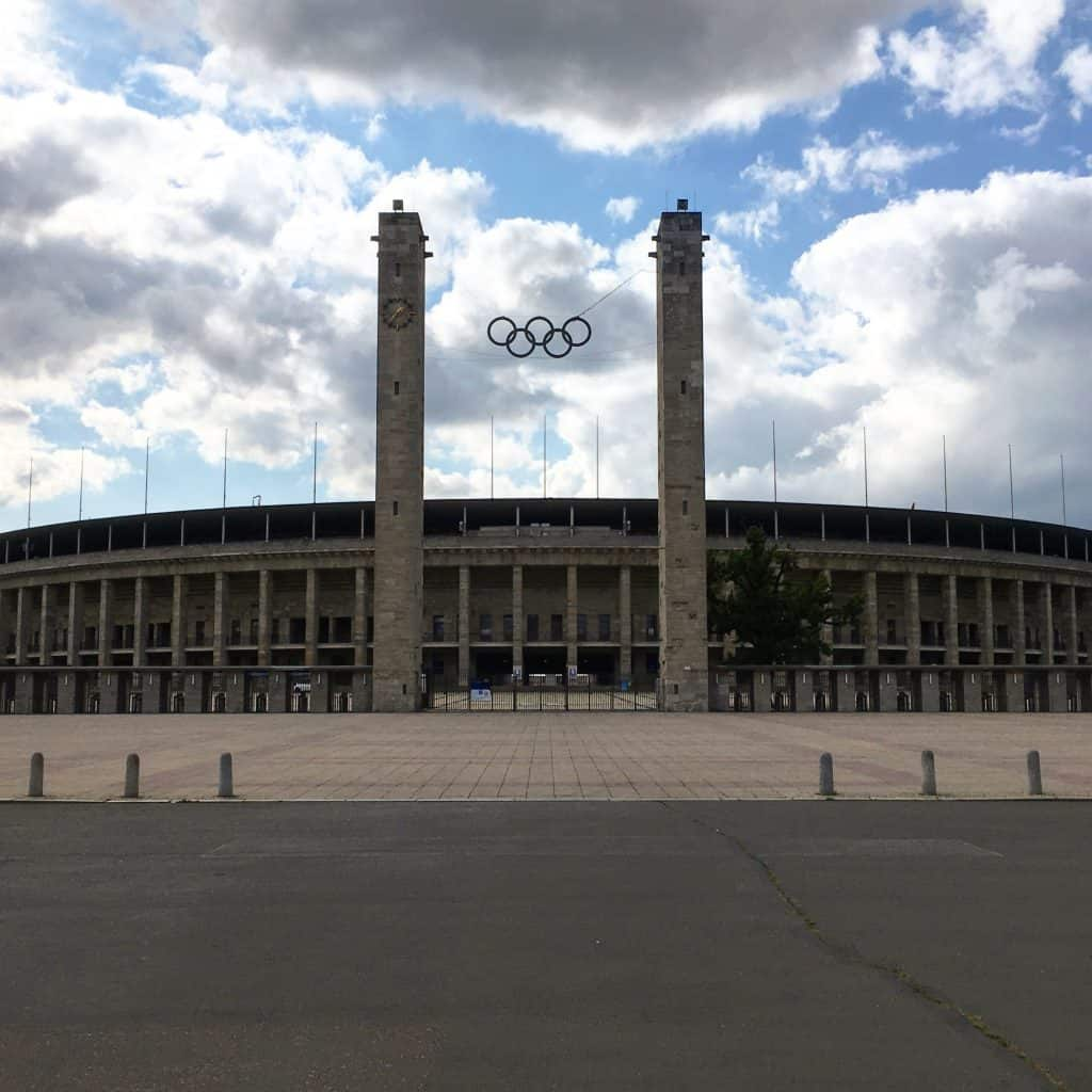 Berlin Stadium Outside
