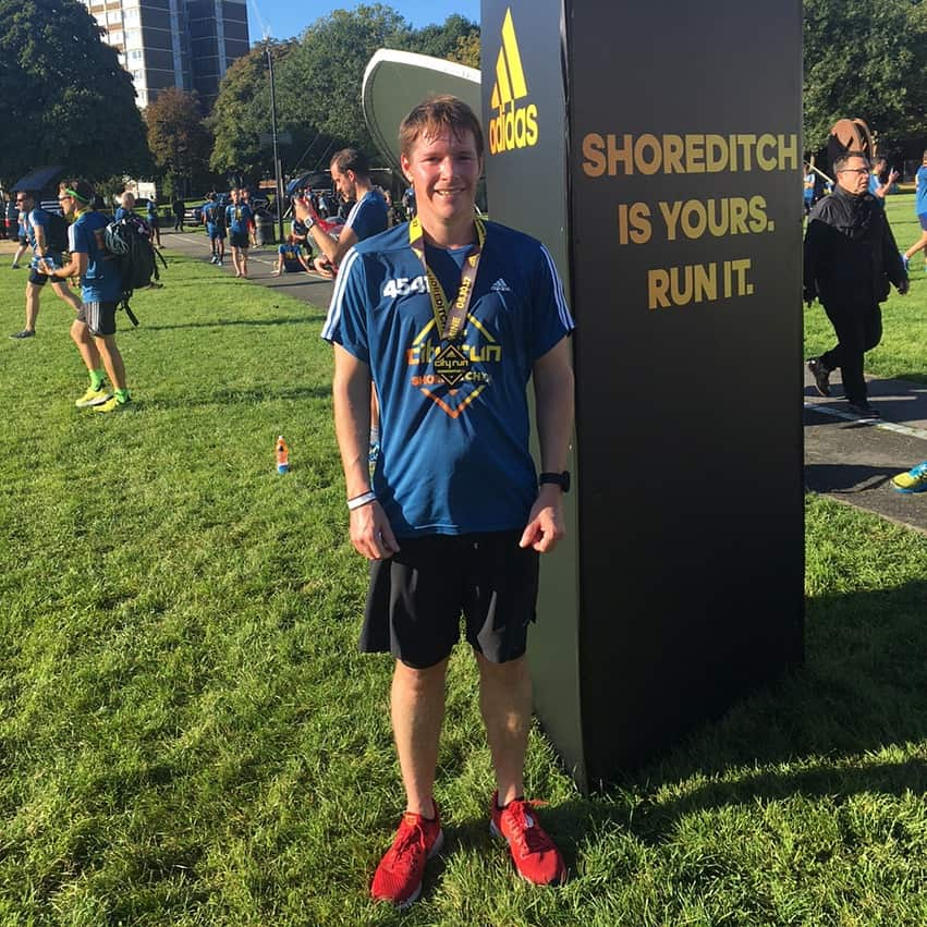 Shoreditch 10km finish