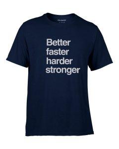 Running Top Better Faster Harder Stronger