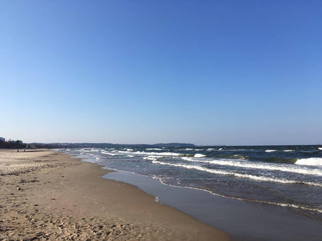 Gdansk beach