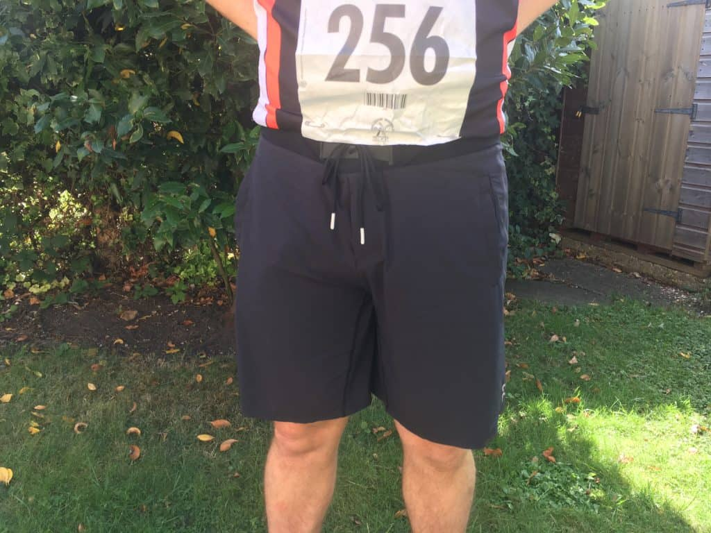 On Running Hybrid Shorts Close up