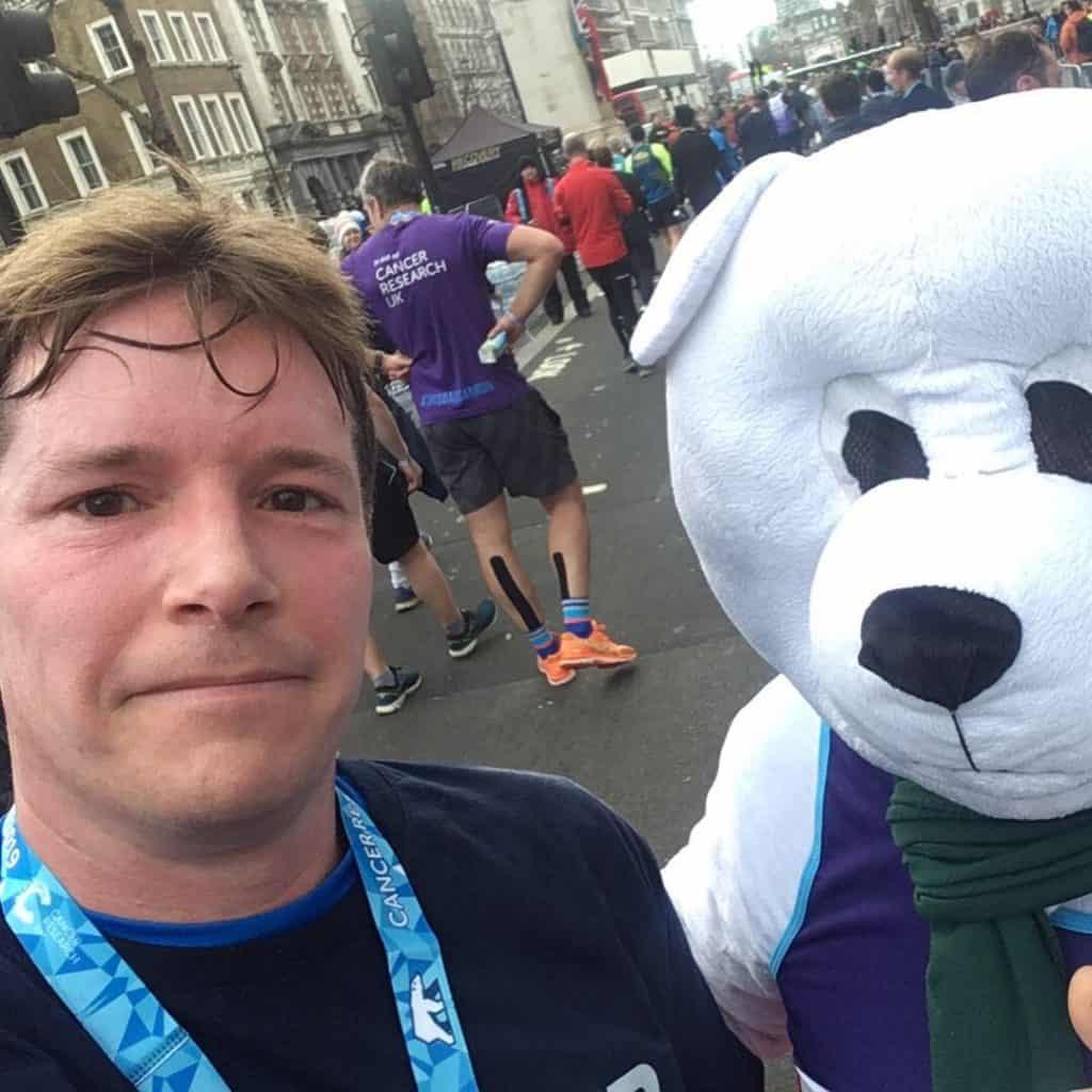 London Winter Run Finish