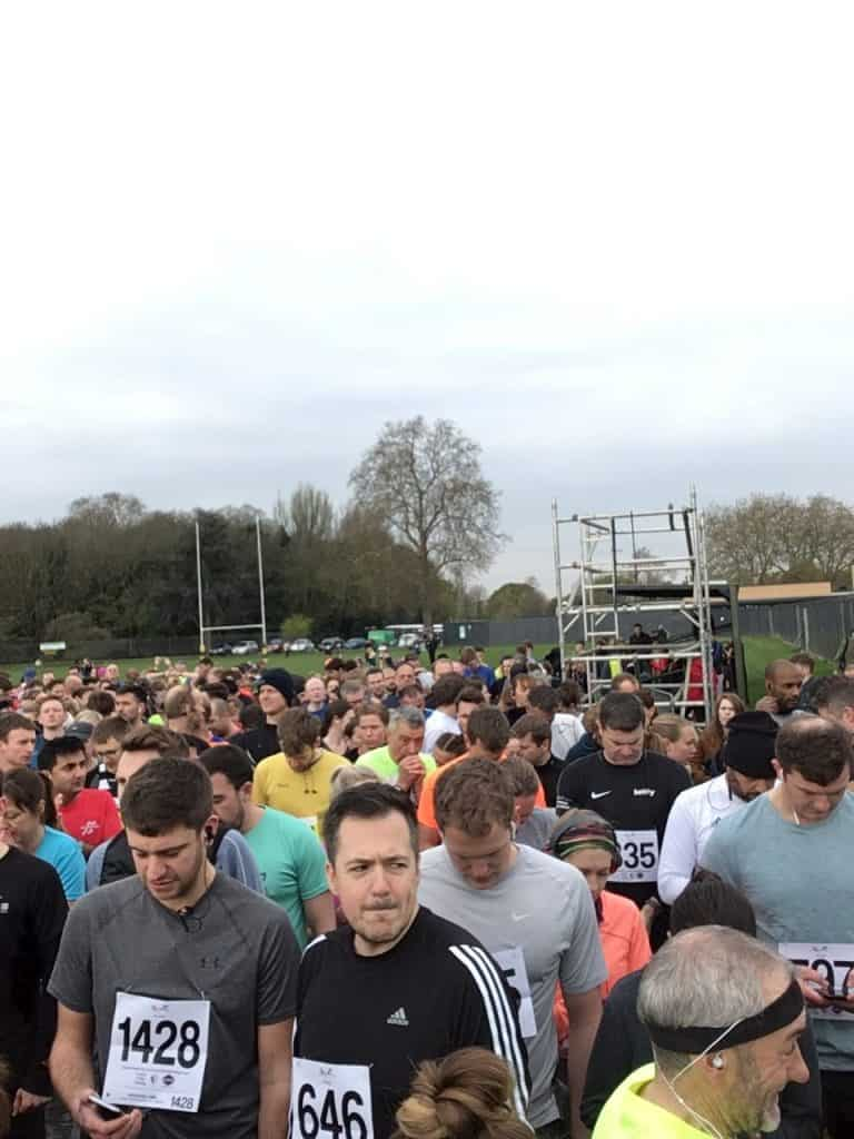 Fulham and Putney Half Start