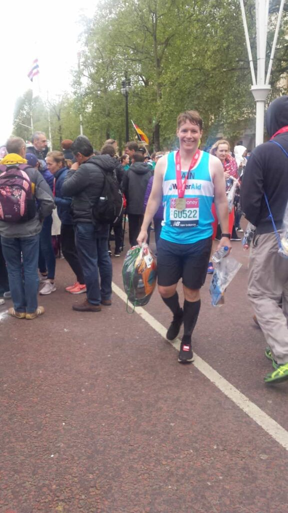 London Marathon 2019 Finish 1